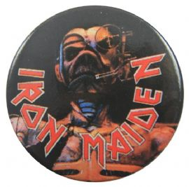 Iron Maiden - 'Eddie Dark' 32mm Badge